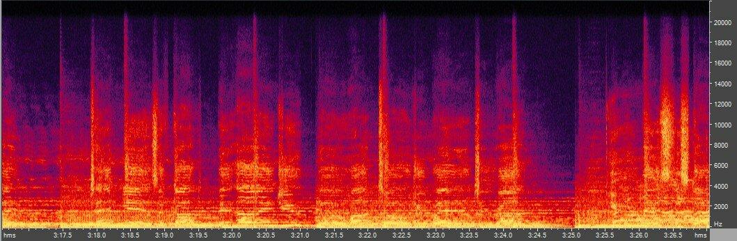 Спектрограмма оригинала