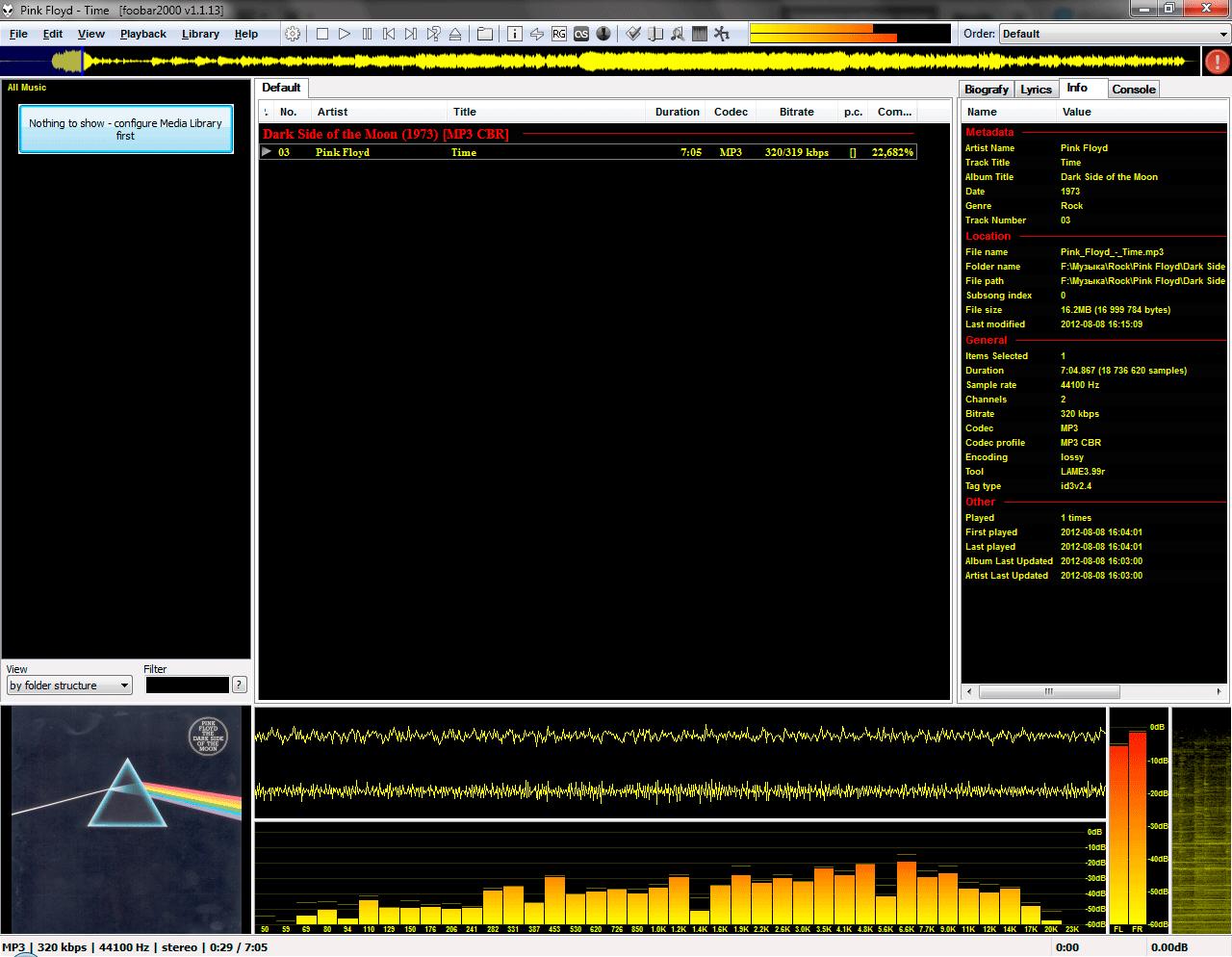 foobar2000 playback